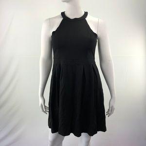 BCRYDRESS Dresses - Blackless Short Sexy XL Halter Neck A-Line Dress